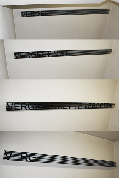 Vergeet niet te vergeten